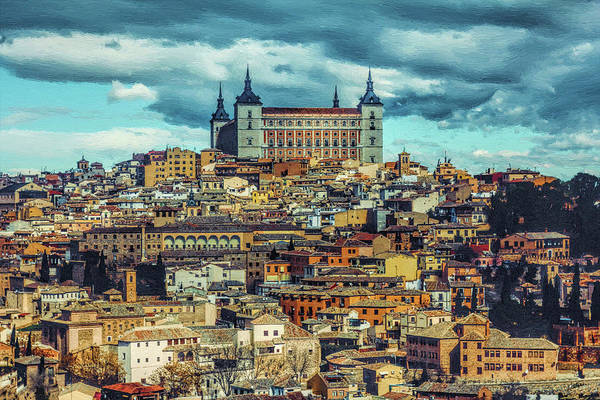 Painting - Toledo, Spain by Dean Wittle