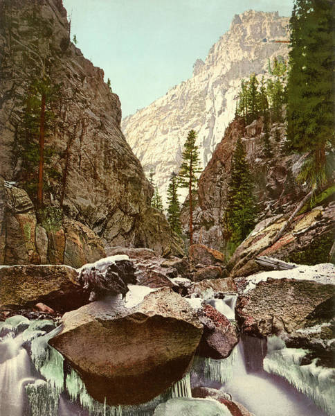 Photograph - Toltec Gorge by Detroit Photographic Company