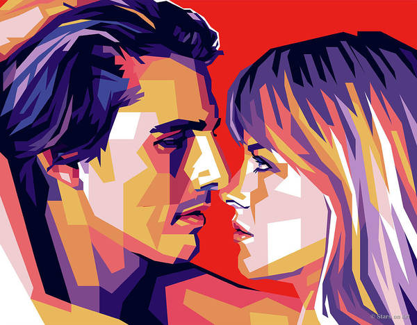 Digital Art - Tom Cruise And Nicole Kidman by Stars on Art