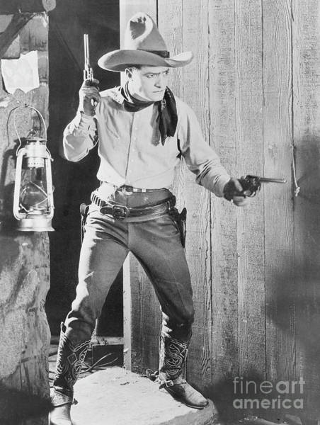 Wall Art - Photograph - Tom Mix, The Untamed 1920 by American School