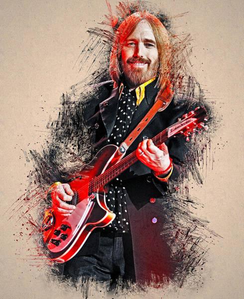 Tom Petty - 35 Art Print
