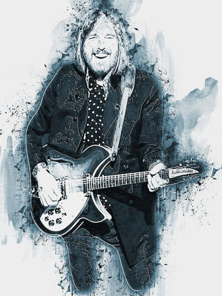 Painting - Tom Petty - 40 by Andrea Mazzocchetti