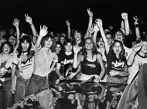 Photograph - Tom Petty Fans by George Rose