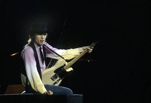 Photograph - Tom Petty Performs Live by Richard Mccaffrey