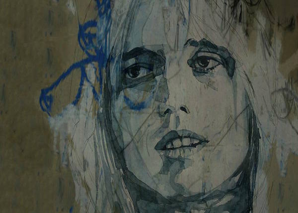 Wall Art - Painting - Tom Petty - Resize  by Paul Lovering