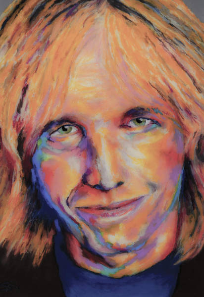 Wall Art - Painting - Tom Petty by Stephen Anderson