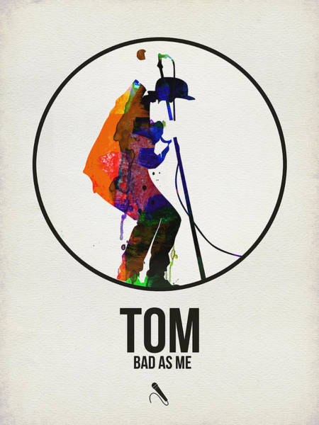 Wall Art - Digital Art - Tom Waits II by Naxart Studio