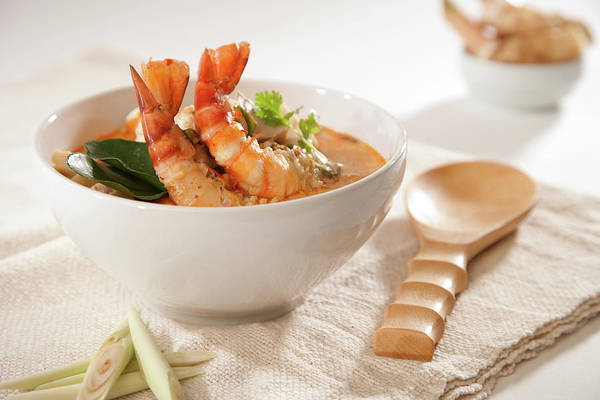 Seafood Photograph - Tom Yum Kung Soup by Shutterworx