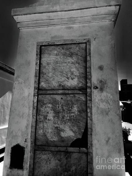 Photograph - Tomb Of Marie Laveau City Of New Orleans  by Susan Carella