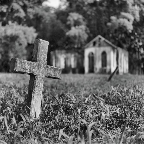 Photograph - Tombstone, St. Chad's, Trinidad by Trinidad Dreamscape