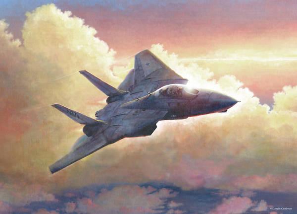 Painting - Tomcat by Douglas Castleman