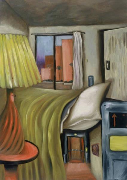 Painting - Tommervik Miami Beach Hotel Art Print by Tommervik