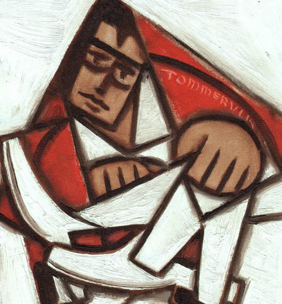 Painting - Tommervik Cubist Elvis Art Print by Tommervik