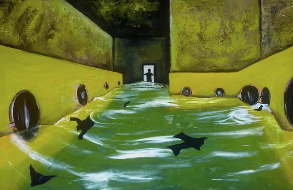 Painting - Tommervik Flooded Laundromat Art Print by Tommervik