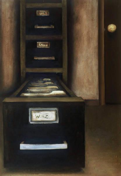 Painting - Tommervik Old Filing Cabinet Art Print by Tommervik