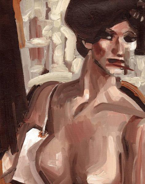 Painting - Tommervik Vintage Retail Mannequin Art Print by Tommervik