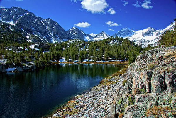 Sierra Nevada Mountain Range Photograph - Toms Place, Little Lakes Valley by Bill Wight