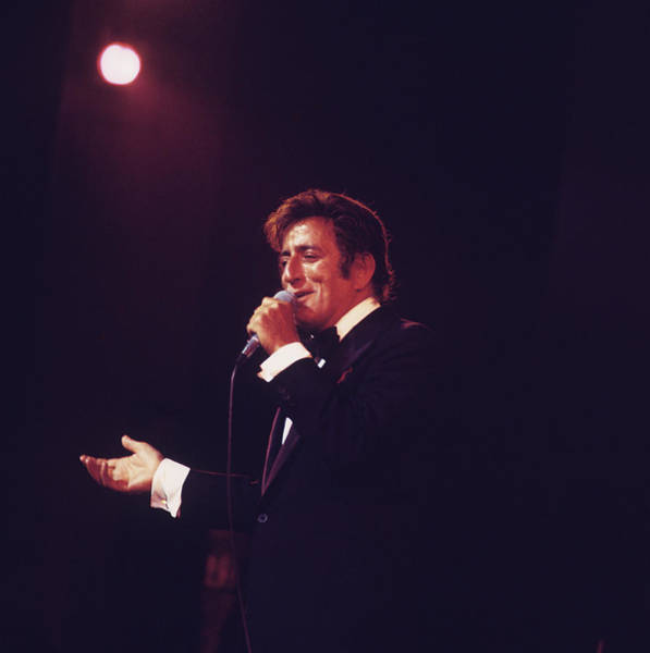 Photograph - Tony Bennett Performs On Stage by David Redfern