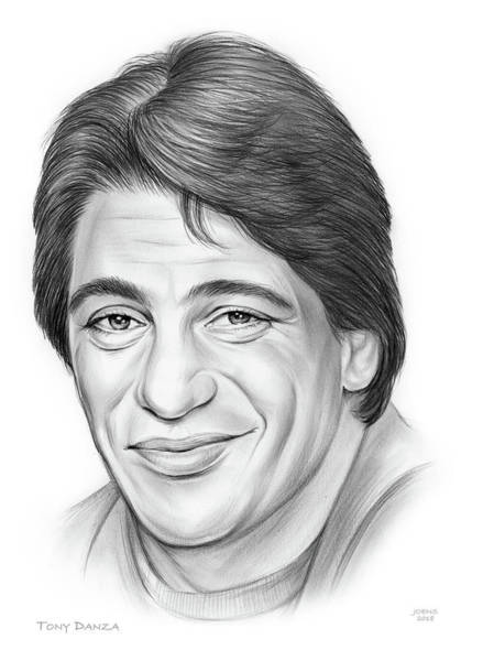 Wall Art - Drawing - Tony Danza by Greg Joens