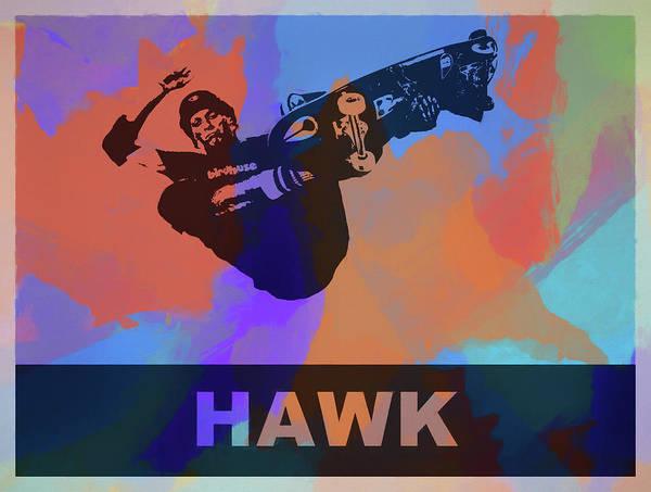 Wall Art - Painting - Tony Hawk  by Dan Sproul