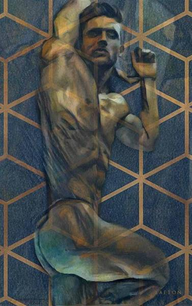 Digital Art - Tony by Richard Laeton