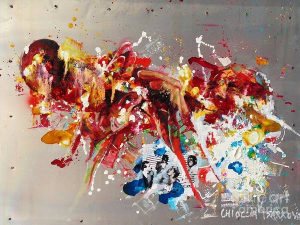 Wall Art - Painting - Tony Scott by Massimo Chioccia and Olga Tsarkova