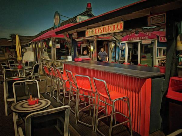 Photograph - Tonys Oyster Bar by Thom Zehrfeld