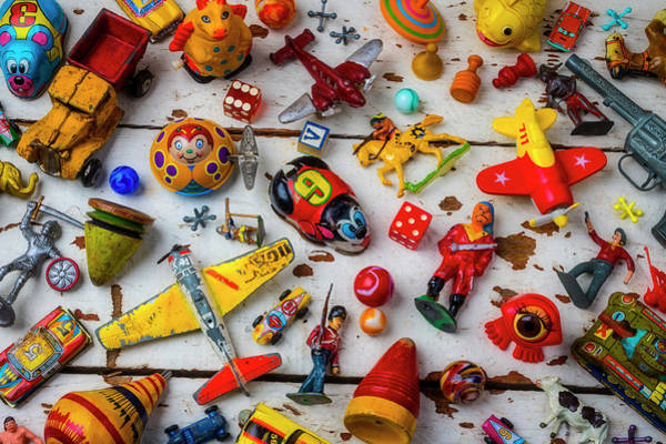 Wall Art - Photograph - Too Many Toys by Garry Gay