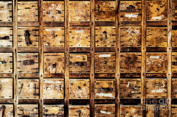 Photograph - Tool Drawers by Miles Whittingham