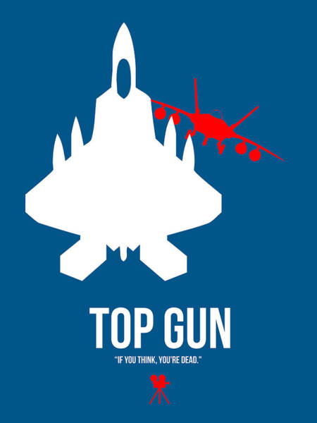 Legendary Digital Art - Top Gun by Naxart Studio