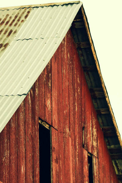 Wall Art - Photograph - Top Of The Barn by Lisa Bell
