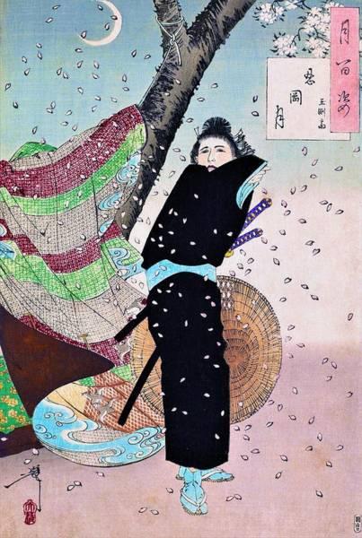 Wall Art - Painting - Top Quality Art - Gyokuensai by Tsukioka Yoshitoshi