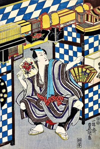 Wall Art - Painting - Top Quality Art - Hachidaime Ichikawa Danjuro by Utagawa Kunisada