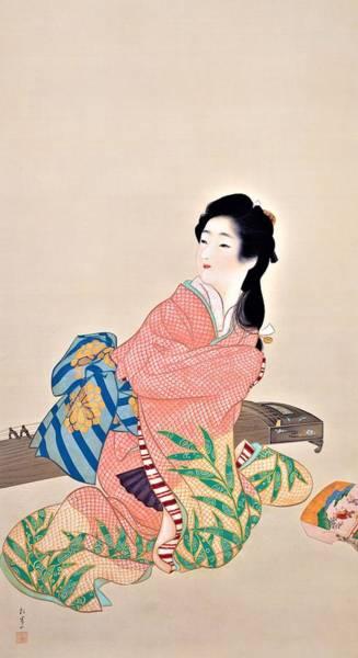 Kabuki Painting - Top Quality Art - Miyuki by Uemura Shoen