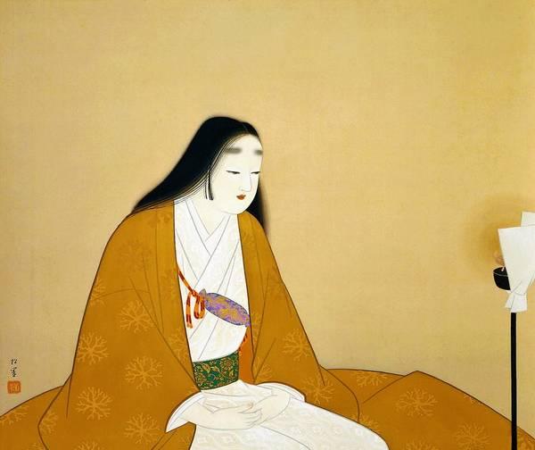 Wall Art - Painting - Top Quality Art - Mrs Kusunoki  by Uemura Shoen