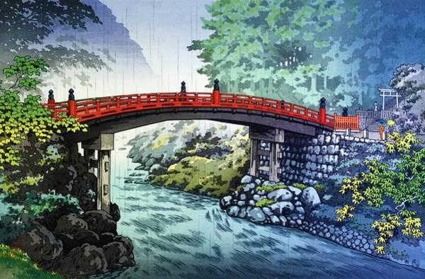 Japanese Shrine Painting - Top Quality Art - Shinkyo by Tsuchiya Koitsu