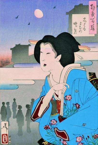 Wall Art - Painting - Top Quality Art - Showtime by Tsukioka Yoshitoshi