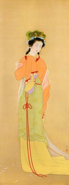 Wall Art - Painting - Top Quality Art - Shunen by Uemura Shoen
