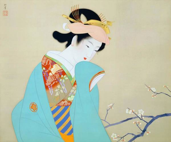 Wall Art - Painting - Top Quality Art - Spring Fragrance by Uemura Shoen
