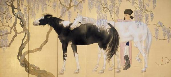 Wall Art - Painting - Top Quality Art - Visiting A Hermit #2 by Hashimoto Kansetsu
