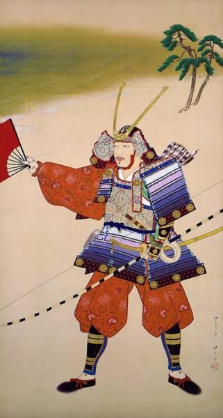 Wall Art - Painting - Top Quality Art - Yoshitsune Of Yashima by Matsuoka Eikyu