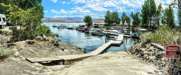 Photograph - Topaz Landing Boat Dock by Joe Lach