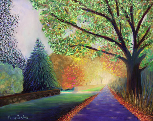Painting - Topstone Road by Polly Castor