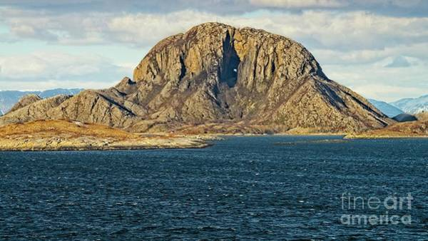 Photograph - Torghatten Mountain Norway by Martyn Arnold