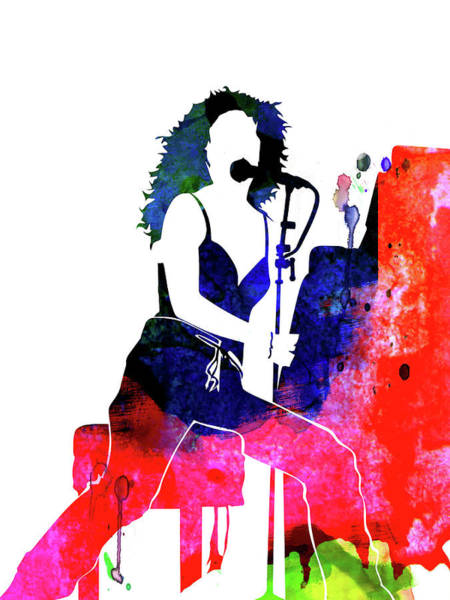 Rock Mixed Media - Tori Amos Watercolor by Naxart Studio