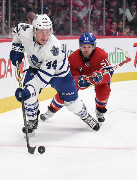 Montreal Photograph - Toronto Maple Leafs V Montreal Canadiens by Francois Lacasse