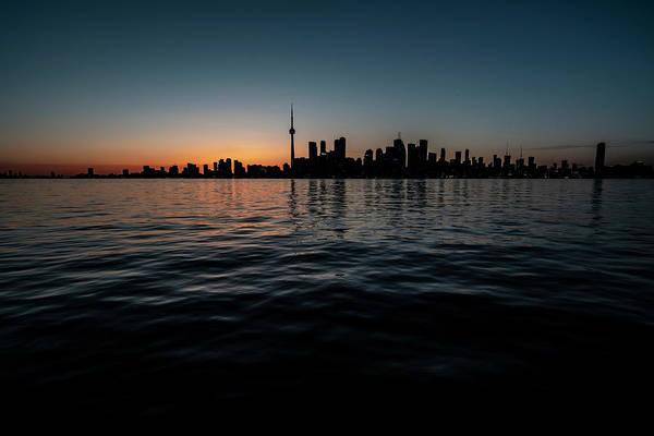 Photograph - Toronto Skyline At Dusk  by Sven Brogren