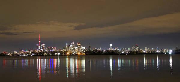 Wall Art - Photograph - Toronto Skyline At Night by Enrique Guzman