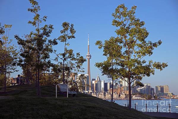 Wall Art - Photograph - Toronto Waterfront Along Lake Ontario by Bill Cobb