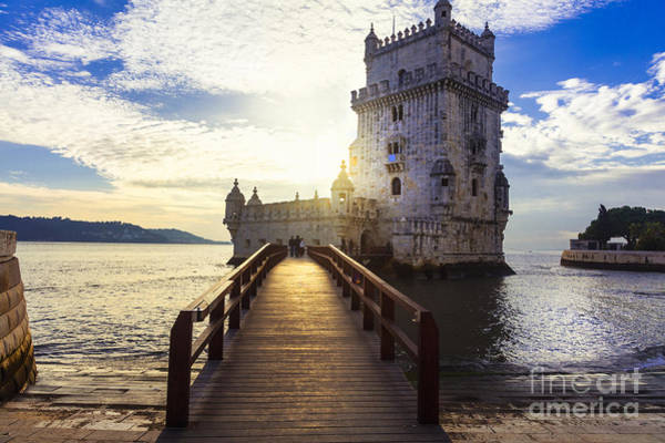 Wall Art - Photograph - Torre De Belem - Famous Landmark Of by Leoks